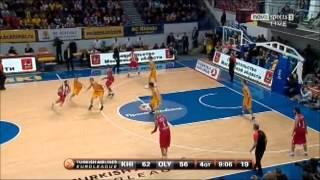 khimki vs olympiakos 82-87 2012-13 euroleague top16