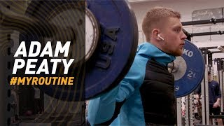 #MyRoutine // How Adam Peaty prepares for a race