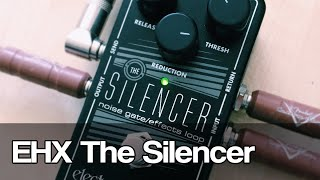 Electro-Harmonix The Silencer | noise gate and effects loop Resimi