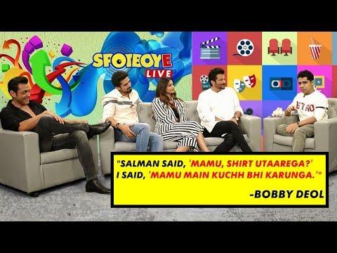 Bobby Deol, Anil Kapoor, Saqib Saleem, & Daisy Shah Talk About Their Film 'RACE 3'  SpotboyE