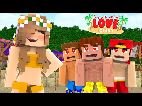 EVERYONE LOVES THE NEW GIRL BUT IS SHE THE MURDERER?? - Minecraft LOVE ISLAND