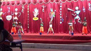 Arshiya's Dance Performance at Volkfiesta, Deens Academy
