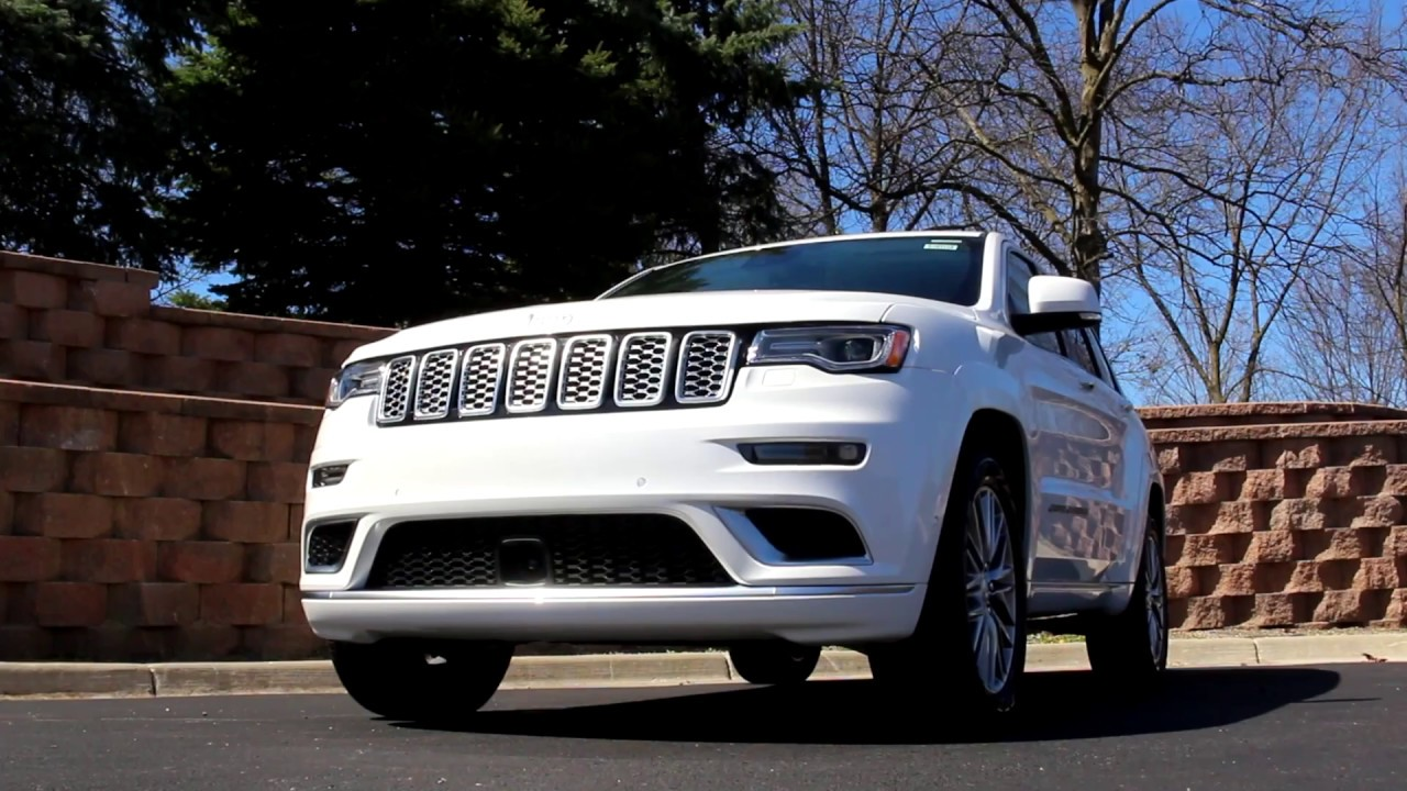Jeep Grand Cherokee Summit Review An American Range Rover