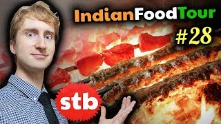 EXTREME Street Food in Lucknow, India // Kebabs Galore #28