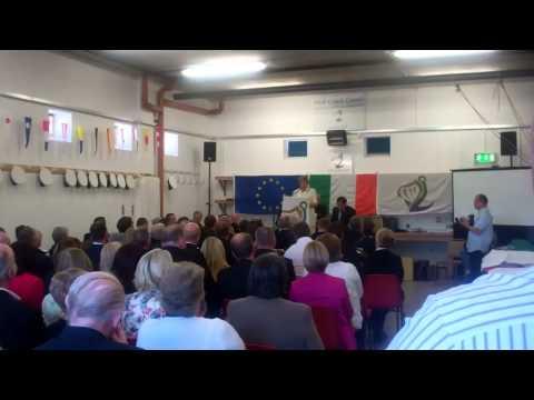 Opening of Goleen Coastguard Station