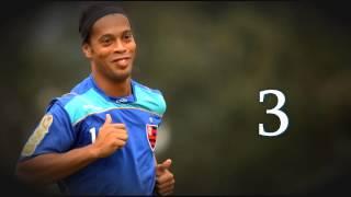 Роналдиньо 10 лучших голов
