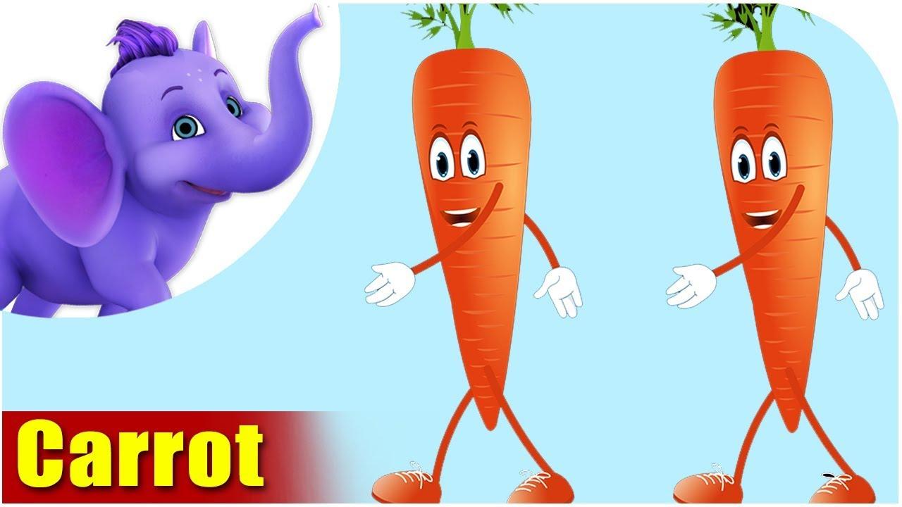 Carrot Vegetable Rhyme Appu Series