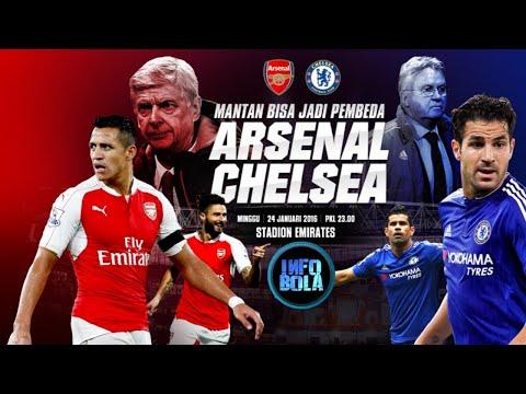 Jadwal Arsenal vs Chelsea: Mengancam The Gunners Mp3