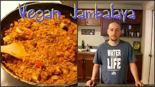 Jambalaya Recipe Demo - Vegan And Delicious