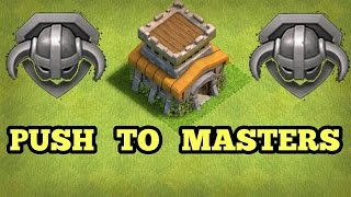 TOWNHALL 8 TO MASTERS | ATTACK STRATEGY | HOW TO PUSH | CLASH OF CLANS