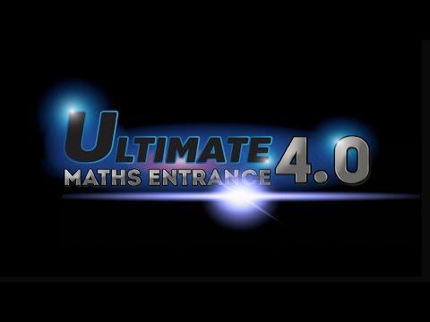คอร์สเพื่อระบบสอบใหม่ Entrance 4.0 : Ultimate Maths - WE BY THE BRAIN