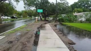 flooding on nebraska ave palm harbor