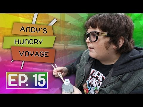 Andy Milonakis Arrives in Tokyo! | Andy's Hungry Voyage