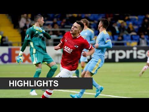 Highlights FC Astana - AZ   Europa League