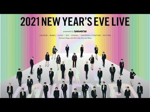 Big Hit Labels Reveals 1st Official Trailer For 2021 New Year S Eve Live Presented By Weverse Youtube