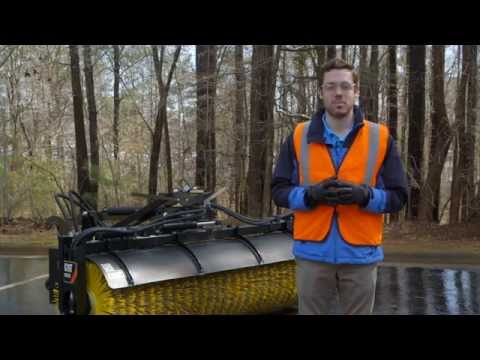 Cat® BA25 Angle Broom Overview