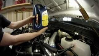 2011-2017 Ford Super Duty Oil Change