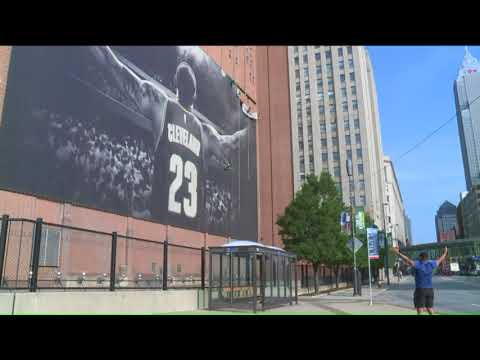 New Banner Revealed Downtown Cleveland