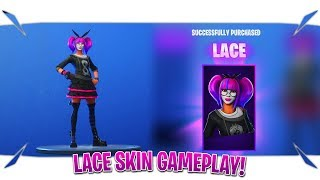 "Fortnite Lace Skin Gameplay ""January 12 Item Shop Live"" (Fortnite Item Shop Today)"
