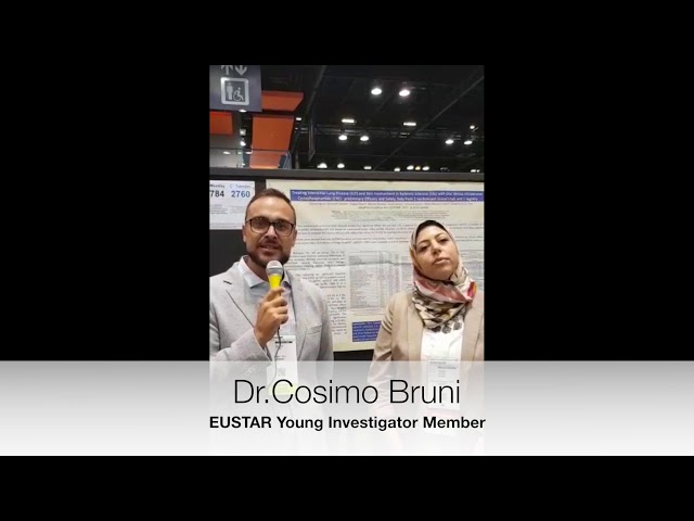 Dr. Cosimo Bruni interviewed on ILD in SSc: oral vs intravenous cyclophosphamide