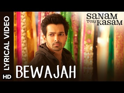 Lyrical: Bewajah | Full Song With Lyrics | Sanam Teri Kasam