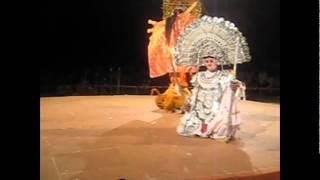 Navratri Maa Durga Mahishasur Mardini Purulia Chhau Dance West Bengal Folk India