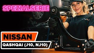 hinten und vorne Motorlager beim NISSAN QASHQAI / QASHQAI +2 (J10, JJ10) montieren: kostenlose Video