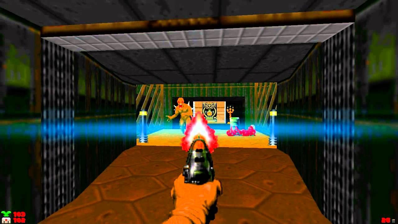 GZDoom 2 1 (Doom) With Reshade Graphics Mod
