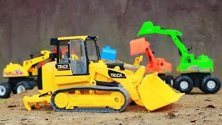 Road Building| Review Toy Cars for Boys | Wheel loader | Grader caterpillar | Excavator