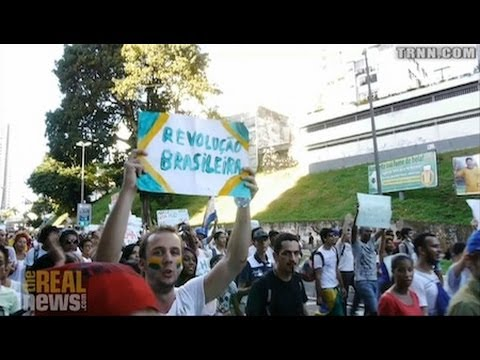Salvador Protests Attempt to Disrupt FIFA Game in Brazil