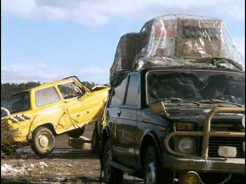 Хочу в тюрьму (1998) - car chase scene