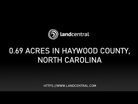 Property 12714: 0.69 acres in Haywood County, NC