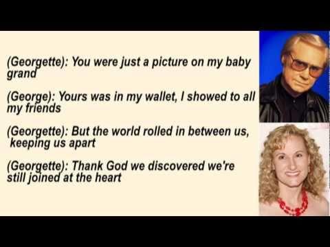George & Georgette Jones - You & Me & Time with Lyrics