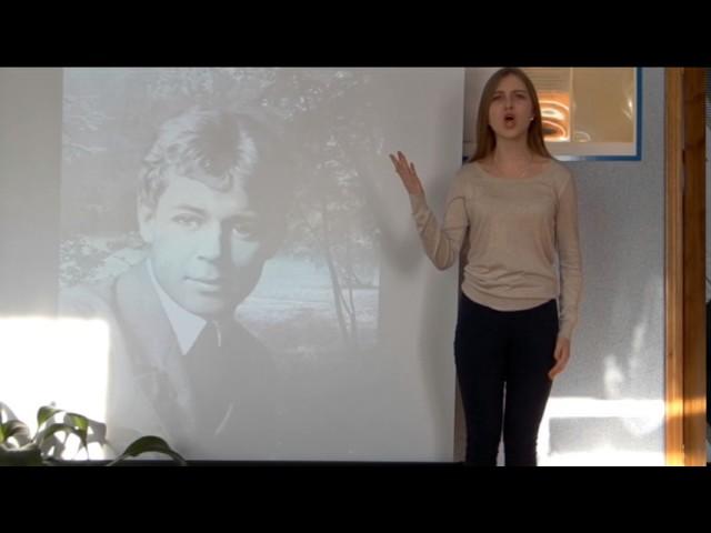 Изображение предпросмотра прочтения – ЕленаБерестовая читает отрывок изпроизведения «Письмо к женщине» С.А.Есенина