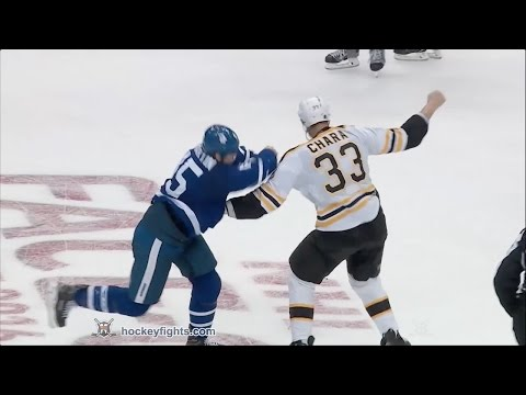 Zdeno Chara vs Matt Martin Oct 15, 2016