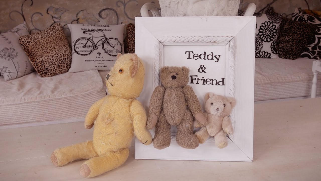 What To Do With Old Teddy Bears Frame Them Youtube