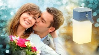 Романтический подарок девушке LightUP. Больше чем просто фонарик КОЛОНКА+ФОНАРИК+POWER BANK