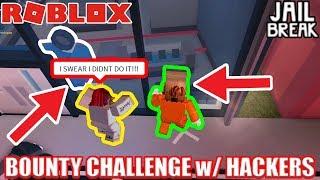 HARDEST Bounty Challenge EVER! *HACKERS* | Roblox Jailbreak