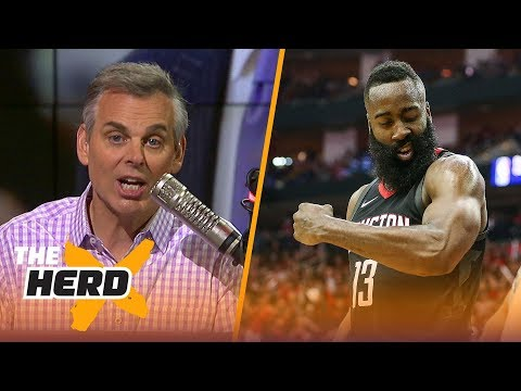 Colin Cowherd on Harden's traveling, Popovich and Philly's play in the 2018 Playoffs | THE HERD