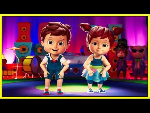 Ram Sam Sam | Dance Song For Kids | Cartoon Animation Nursery Rhymes & Songs for Children