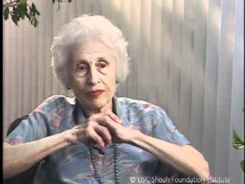 Jewish Survivor Clara Daniels Testimony