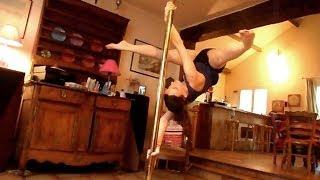 Pole Dance Tutorial ► Twisted Grip Aysha