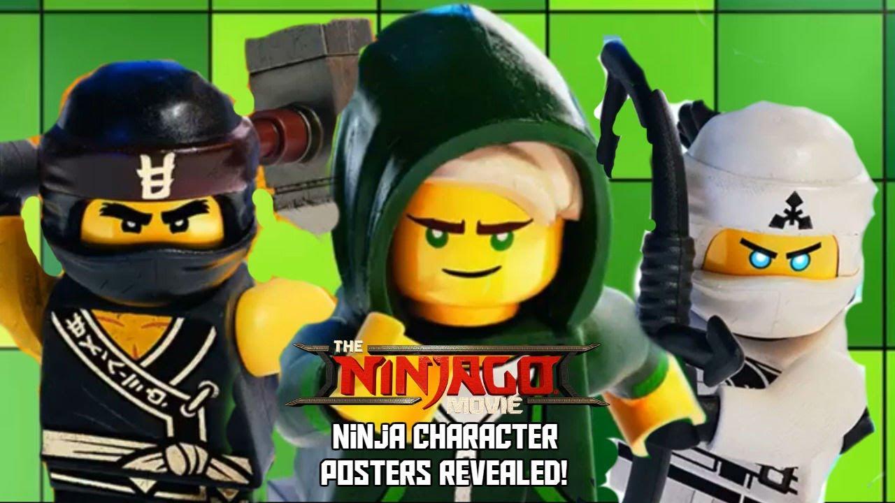 The lego ninjago movie ninja character wallpapers revealed youtube the lego ninjago movie ninja character wallpapers revealed voltagebd Choice Image