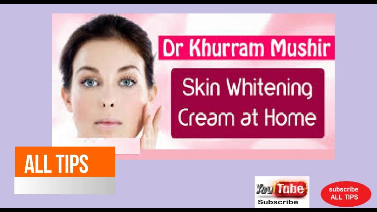 Dr Khurram Mushir Fairness Cream in Urdu Oily Skin Whitening