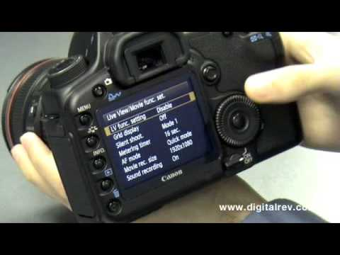 Canon EOS 5D Mark II First Impression Video by DigitalRev