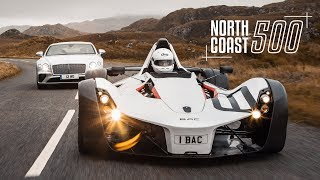BAC Mono & Bentley Continental GT on Britain's Best Road | Carfection 4K