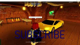 i played jailbreack on roblox