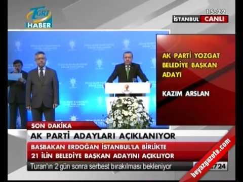 2014 AK Parti Yozgat Belediye Başkan Adayı Kazım Arslan
