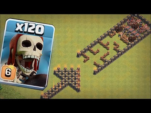 Thumbnail: DO NOT GO IN THERE!!!! 🔸TROLL TROOP BASE!!🔸Clash of clans