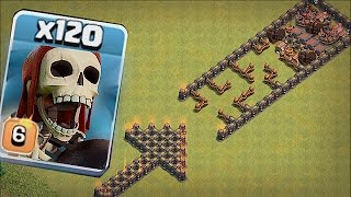 DO NOT GO IN THERE!!!! 🔸TROLL TROOP BASE!!🔸Clash of clans